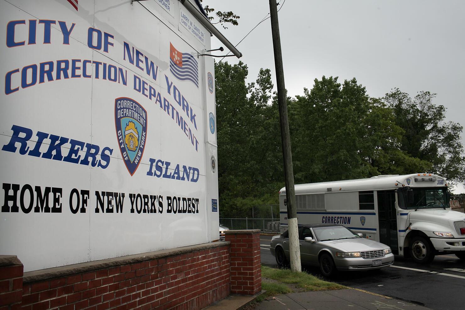 IMF Chief Dominique Strauss-Kahn Held New York City Rikers Island Prison