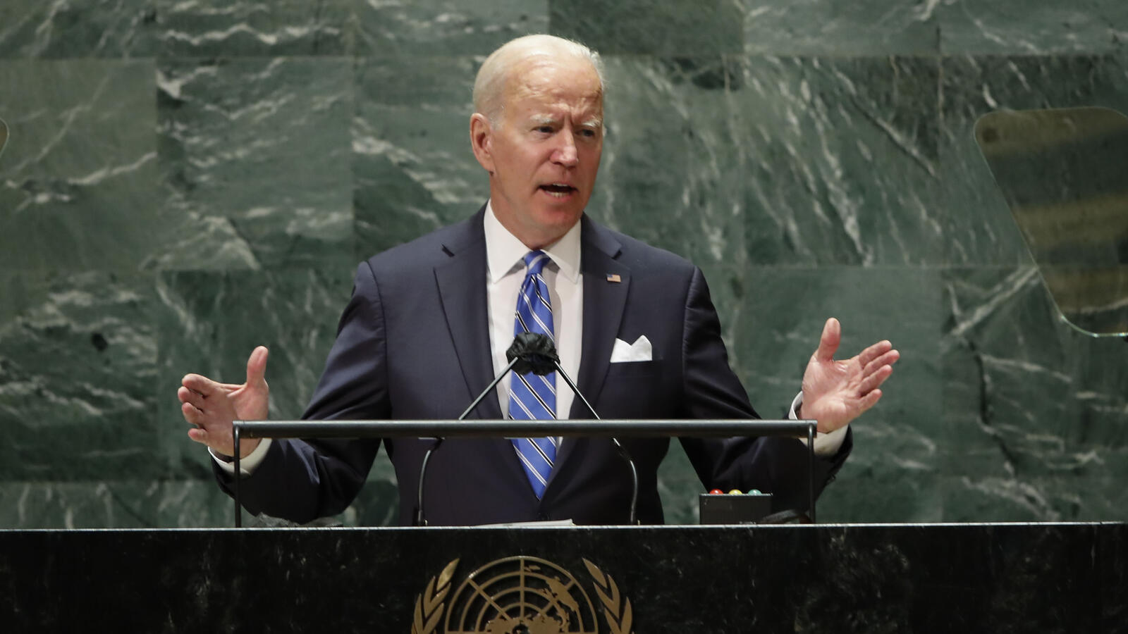 President Biden Delivers His First Speech To UN General Assembly