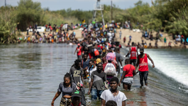 600 Homeland Security Agents Sent To Border For Haitian Migrant Crisis