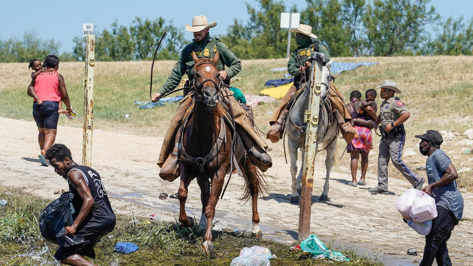 Biden Condemns Images Of Border Patrol Agents On Horseback
