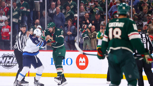 WATCH: Marcus Foligno was MIC'D UP during that Superman Punch Fight!!