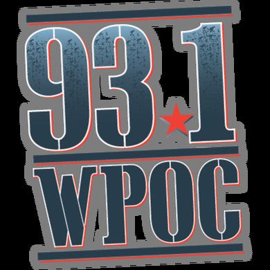 93.1 WPOC logo