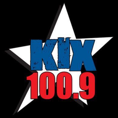 KIX 100.9 logo