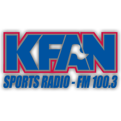 KFAN Sports Radio FM 100.3 logo