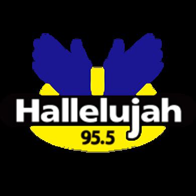95.5 Hallelujah FM logo