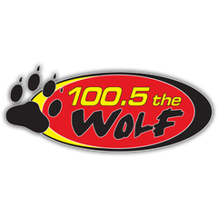 100.5 The Wolf logo