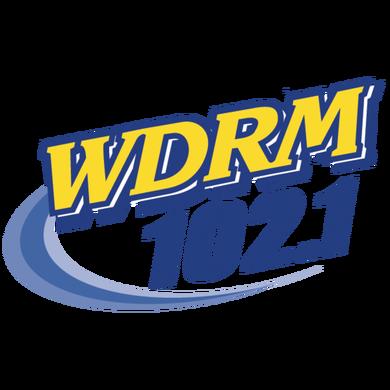 102.1 WDRM logo