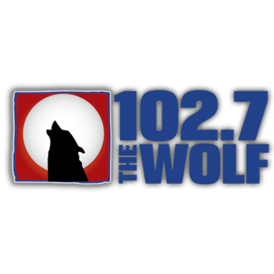 102.7 The Wolf logo