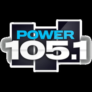 Power 105.1 logo