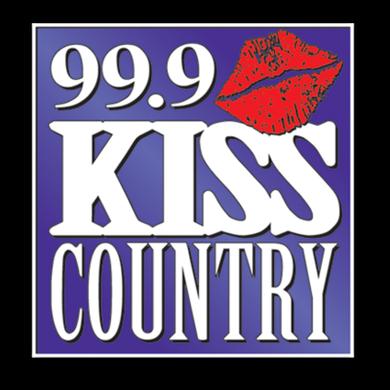99.9 Kiss Country logo