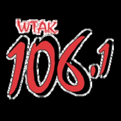 106.1 WTAK logo