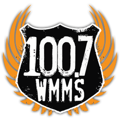 100.7 WMMS - The Buzzard logo
