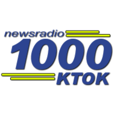 News Radio 1000 KTOK logo