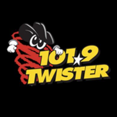 101.9 The Twister logo