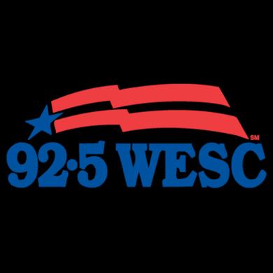 92.5 WESC logo