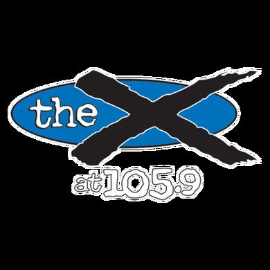 105.9 The X logo
