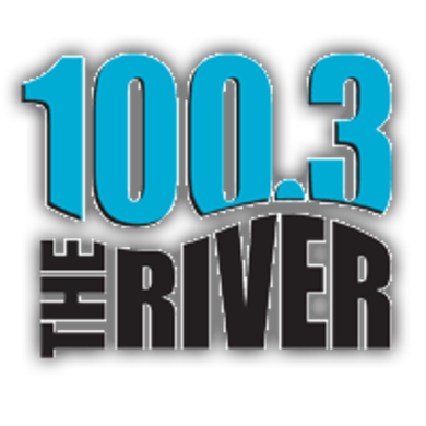 100.3 The River logo
