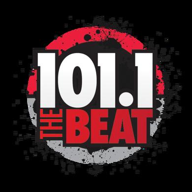 101.1 The Beat logo