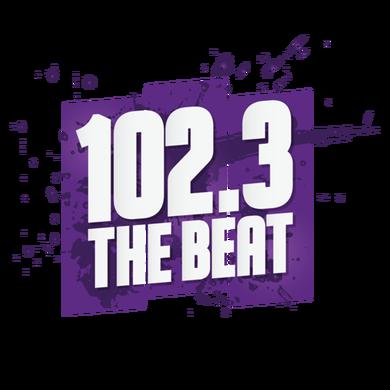 102.3 The Beat logo