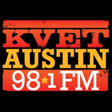 98.1 KVET logo