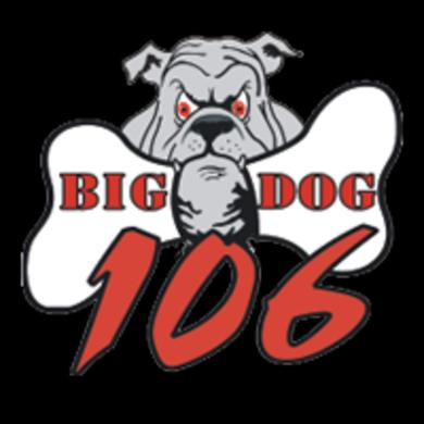 Big Dog 106 logo