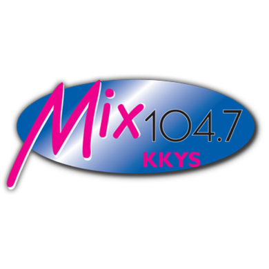 104.7 THE MIX logo