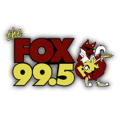 99.5 THE FOX logo