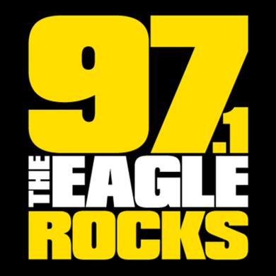 97.1 the EAGLE logo