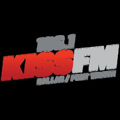 106.1 KISS FM logo