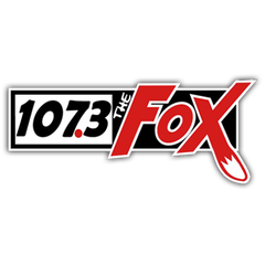 The Fox 107.3 logo