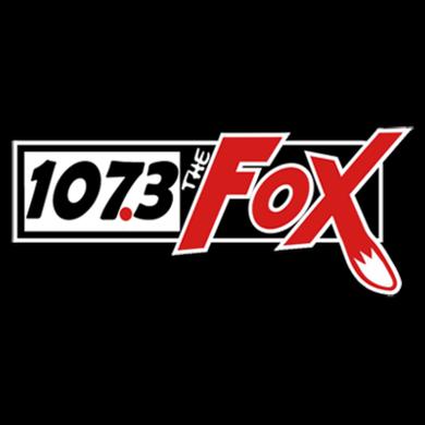 The Fox 107.3 logo