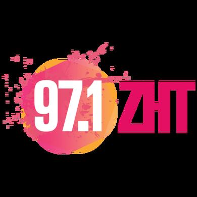 97.1 ZHT logo
