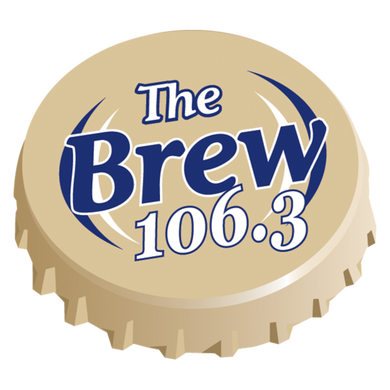 106.3 The Brew logo