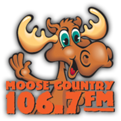 Moose Country 106.7 logo