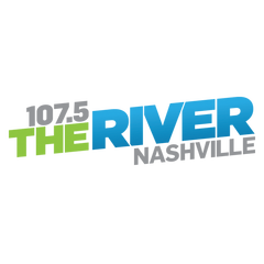 1075 The River logo
