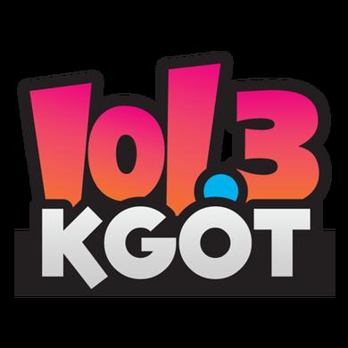101.3 KGOT logo