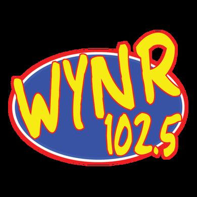 102.5 WYNR logo