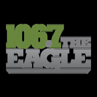 106.7 The Eagle logo