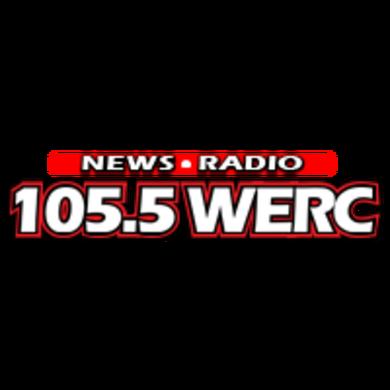 News Radio 105.5 WERC logo