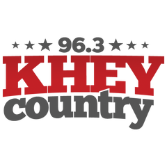 96.3 KHEY Country logo