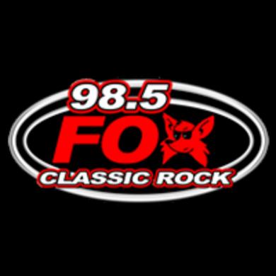 98.5 The Fox logo