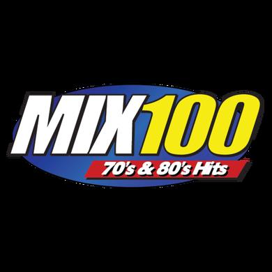 MIX 100 logo