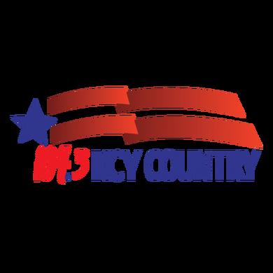 104.3 KCY Country logo