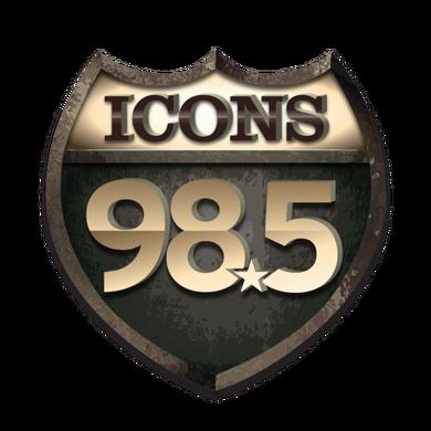 98.5 ICONS logo