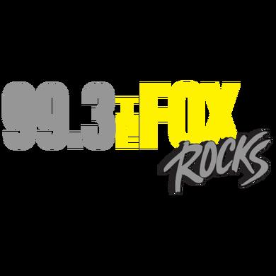 99.3 The Fox Rocks logo