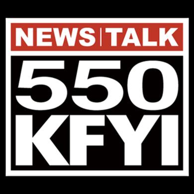550 KFYI logo
