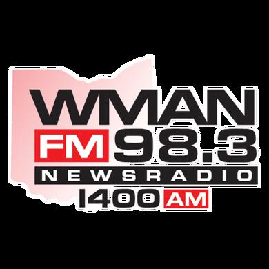 News Radio WMAN logo
