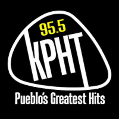 95.5 KPHT logo