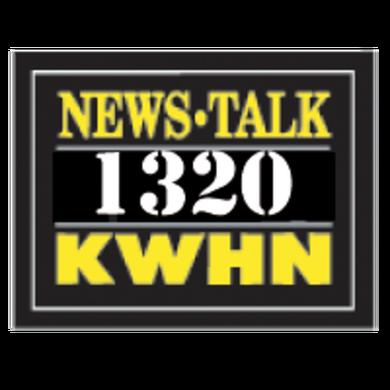News Talk 1320 KWHN logo