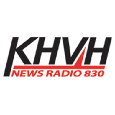 News Radio 830 KHVH logo